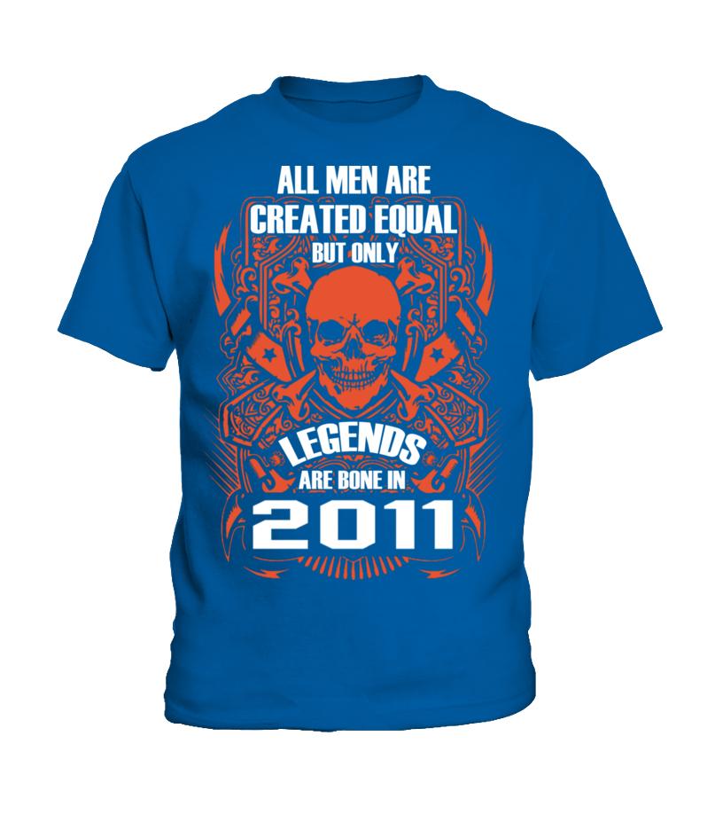 LEGENDS ARE BORN IN 2011