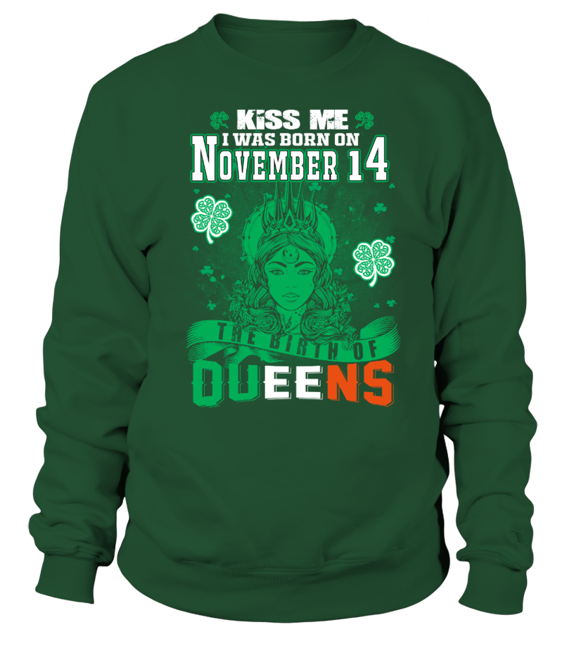 Irish Queens are born on November 14