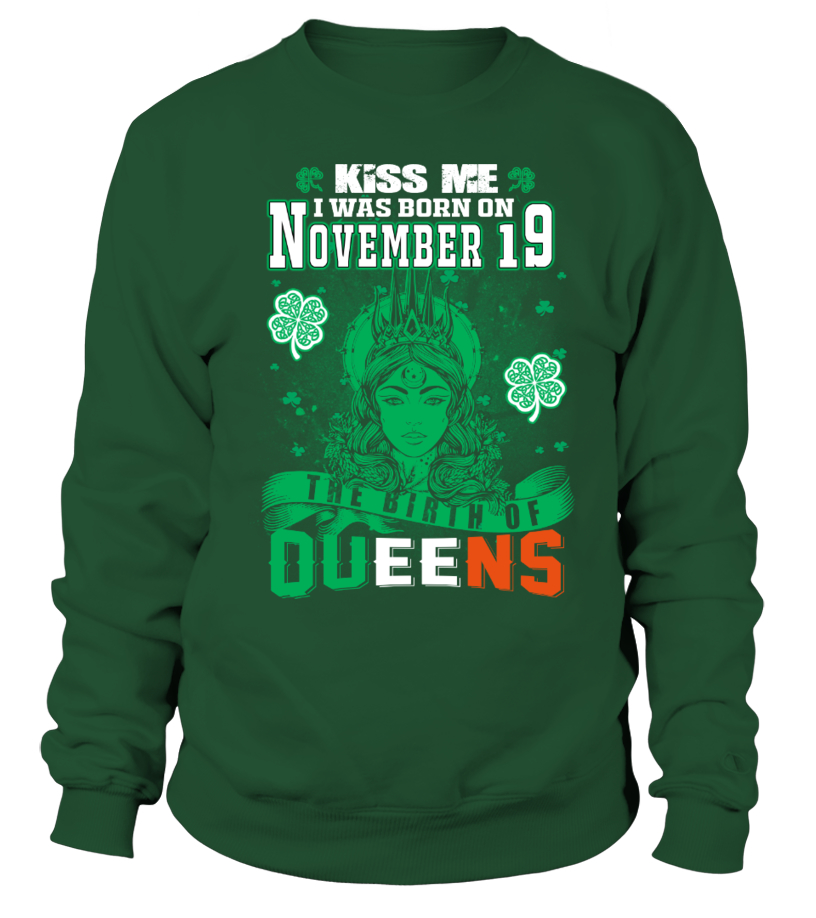 Irish Queens are born on November 19