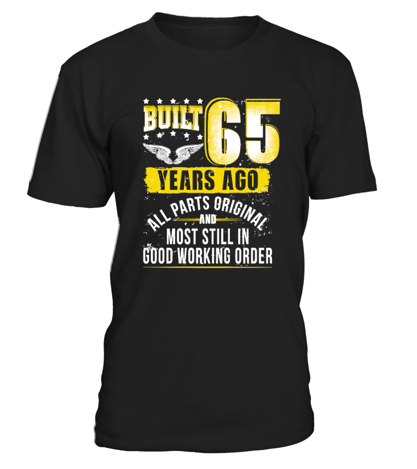 Funny 65th Birthday Shirt B Day Gift