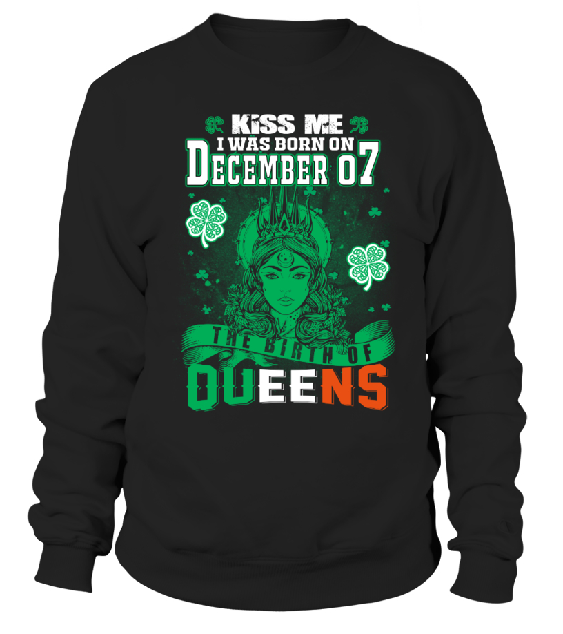Irish Queens are born on December 07