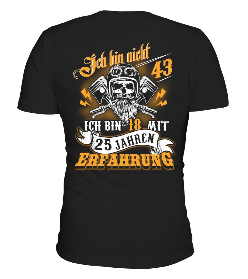 Ich bin nicht 43 tshirt-tee