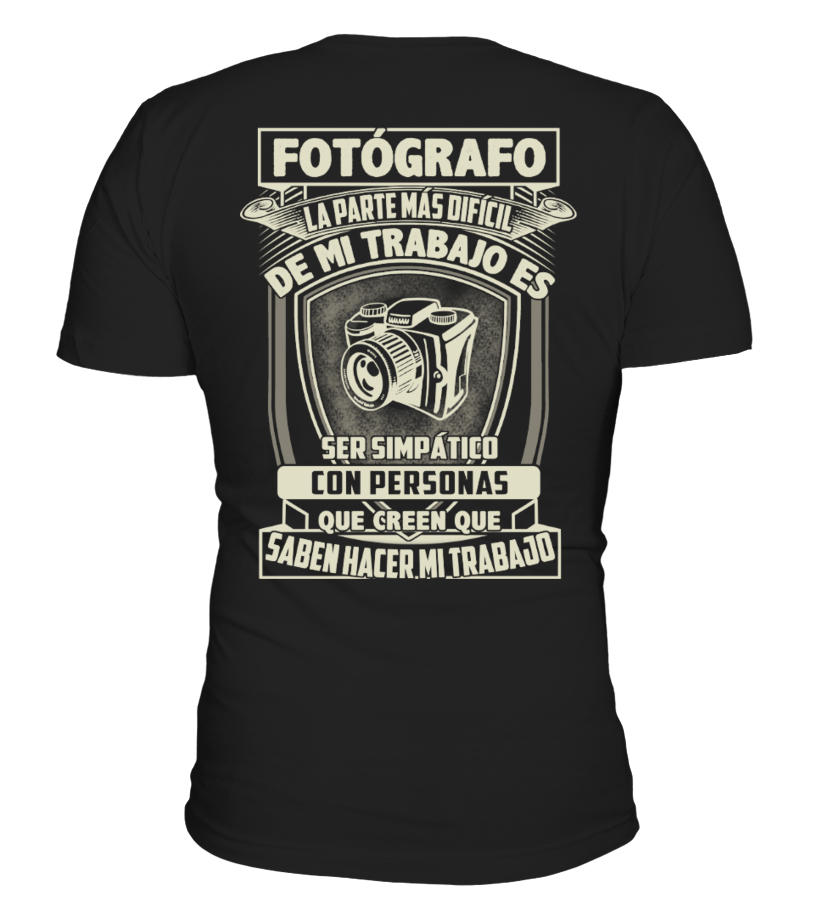 FOTÓGRAFO, FOTOGRAFÍA T-SHIRT