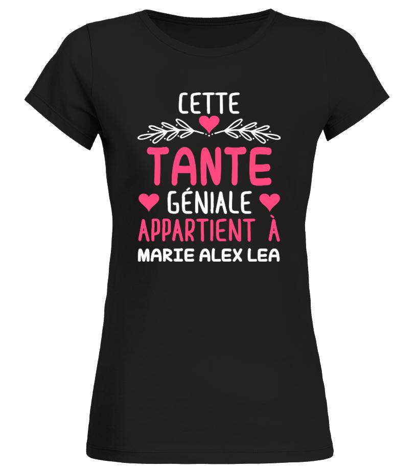 CETTE TANTE GÉNIALE TSHIRT PERSONNALISÉ