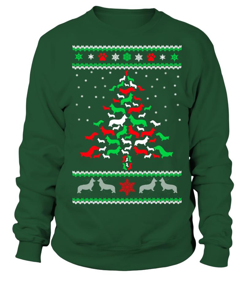 Amazing Christmas - Ltd Edition Corgi Christmas Tree Sweatshirt Unisex