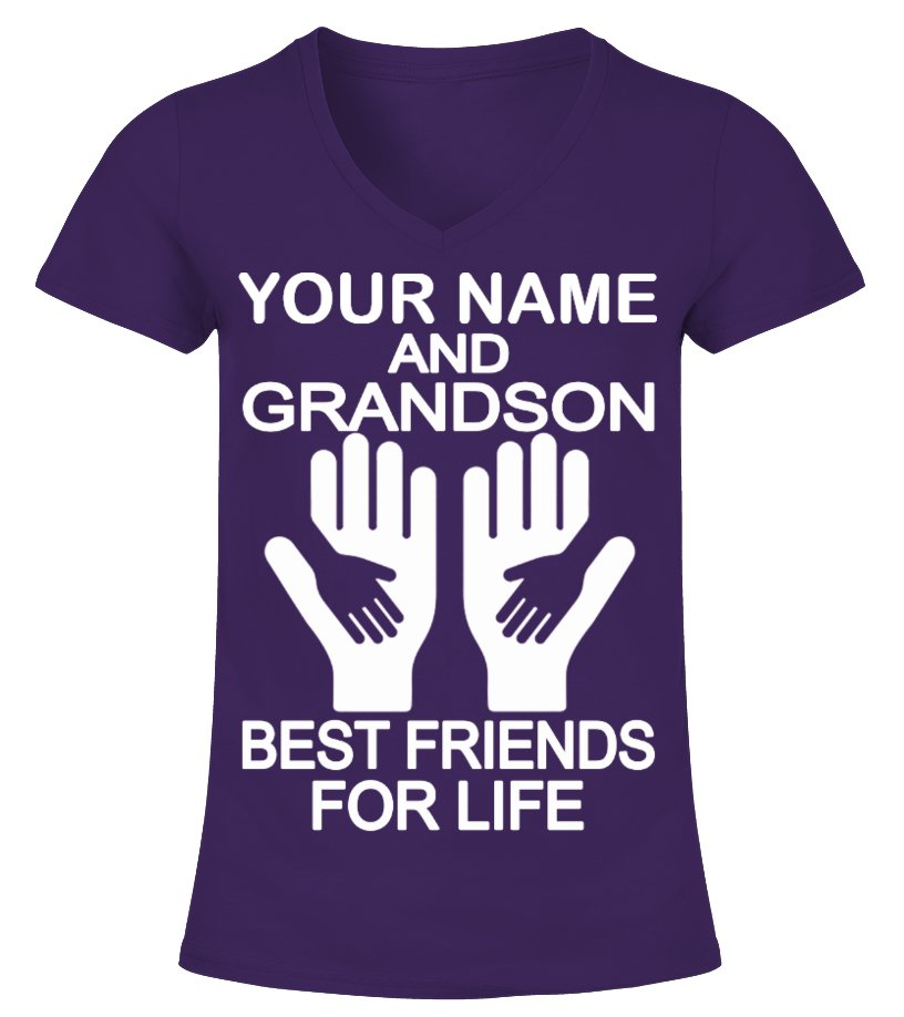 [CUSTOMIZE YOUR NAME ] AND GRANDSON