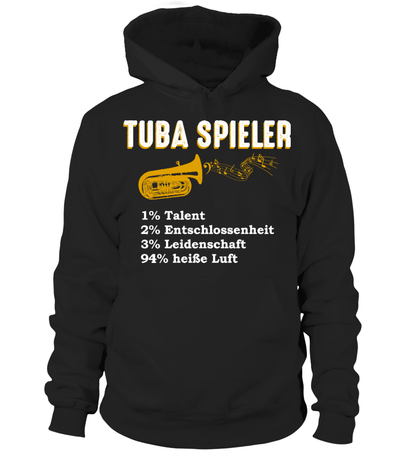 Tuba - heisse Luft - T-Shirt