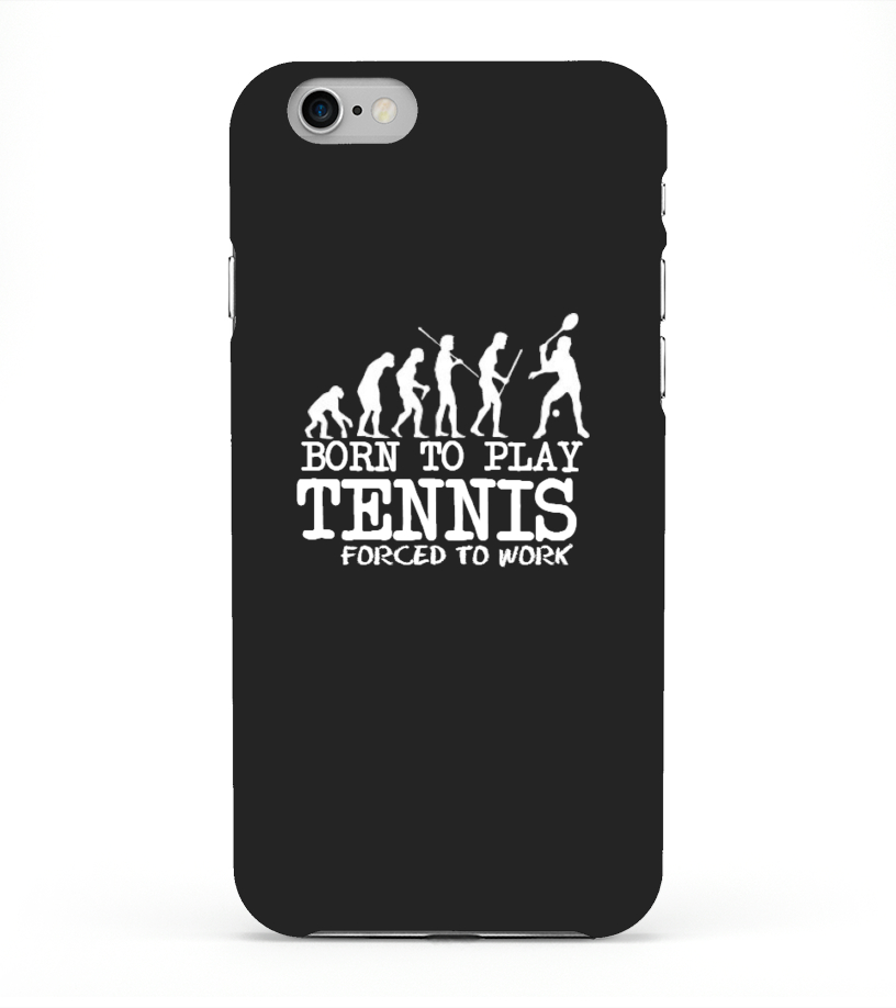 Born To Play Tennis-Phone Case
