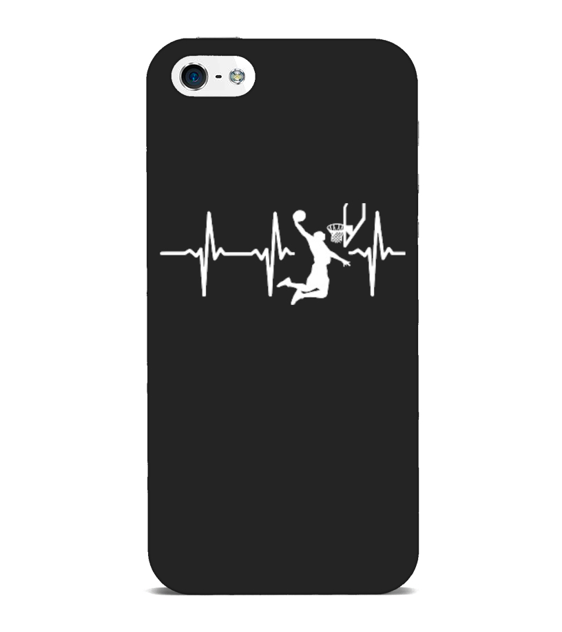 Basketball in my heartbeat - Phone Case