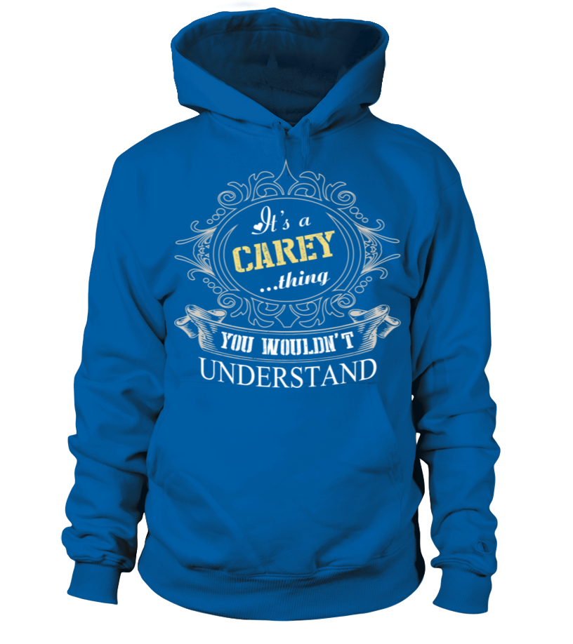 IT IS CAREY THING