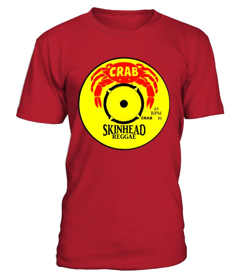 Limited Edition crab skin reggae tee