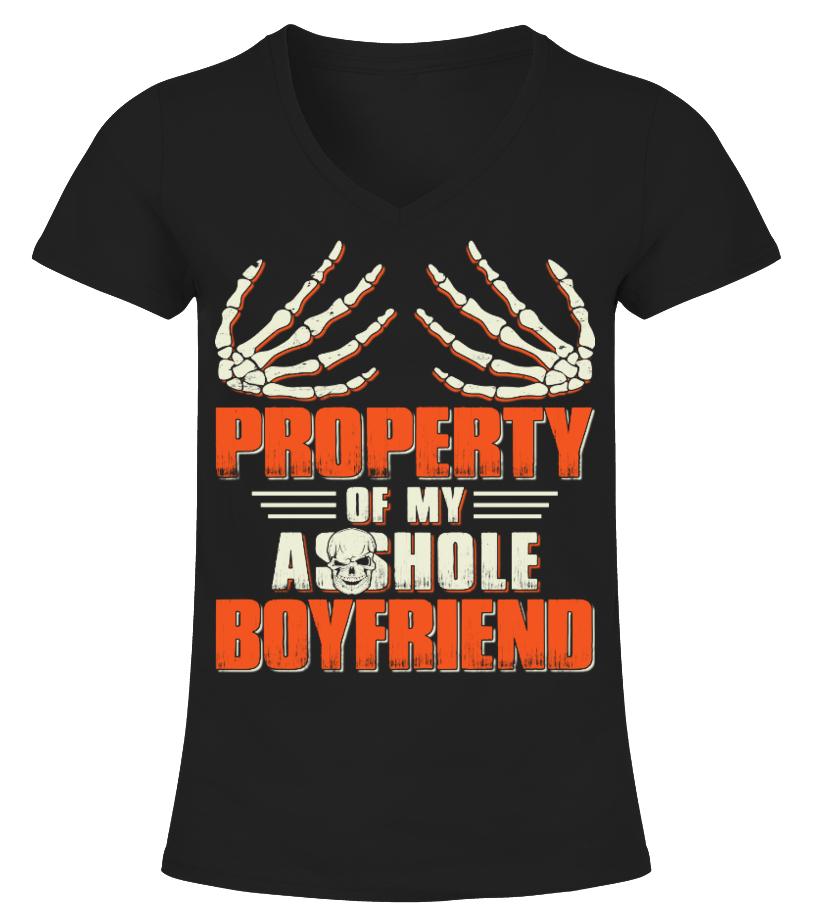 Property of my asshole boyfriend