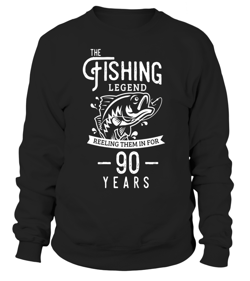 Fishing Legend 90 Years Old Birthday Gift For Fisherman