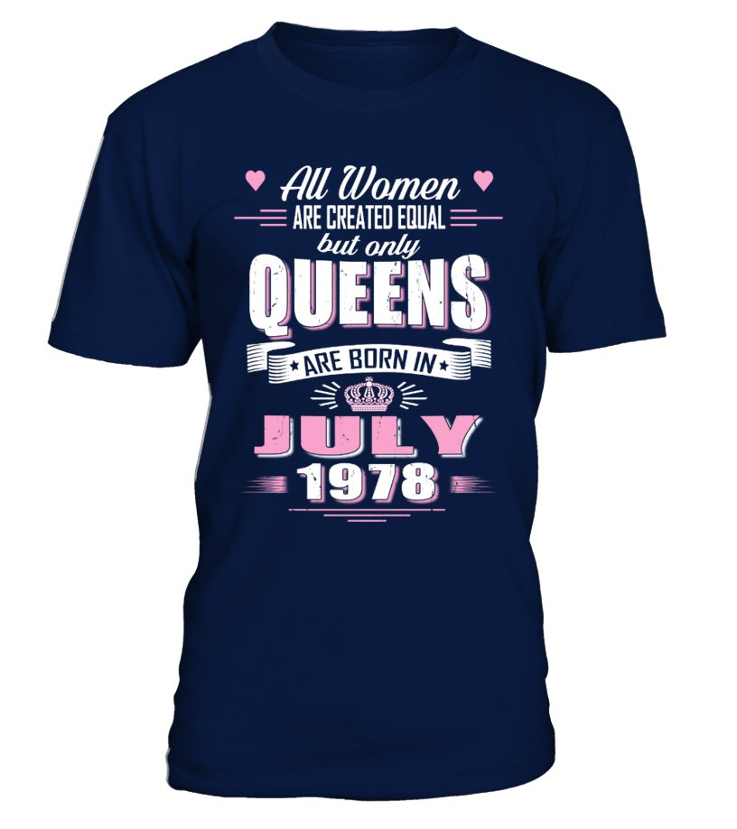 July 1978  birthday of Queens Shirts