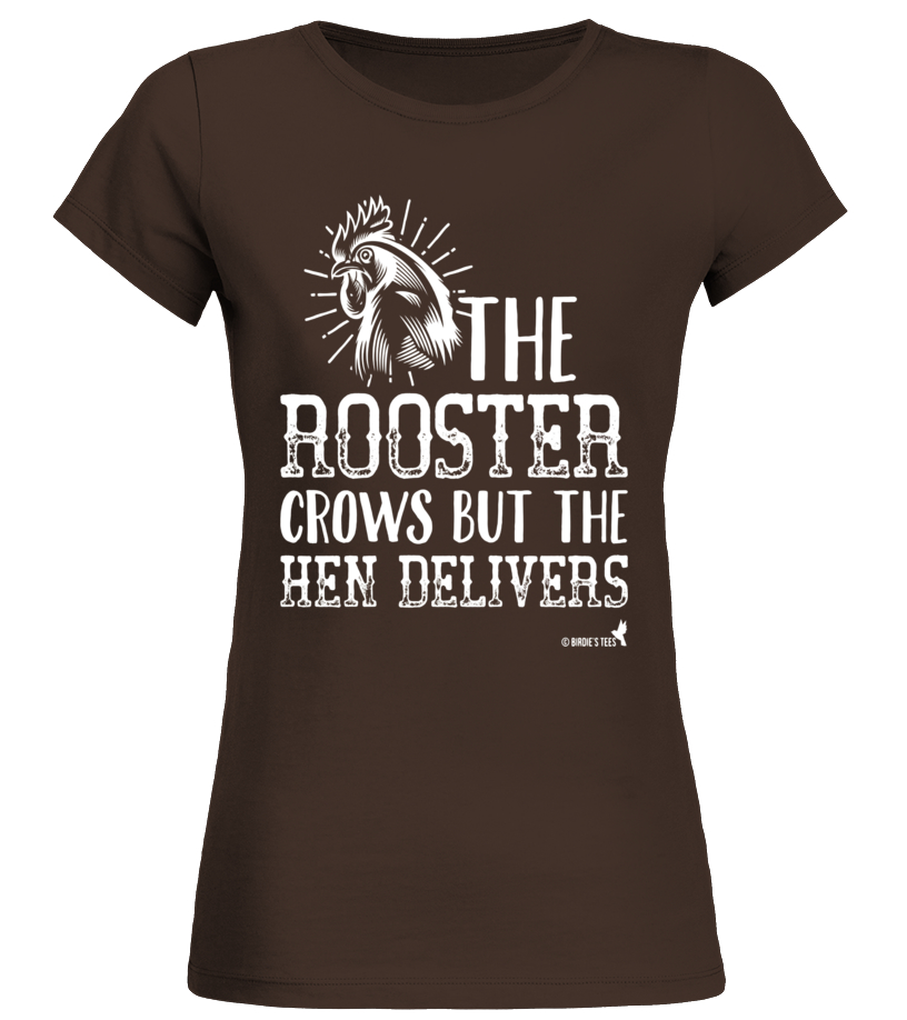 Chicken Lovers T-Shirt Rooster Crows Hen Delivers