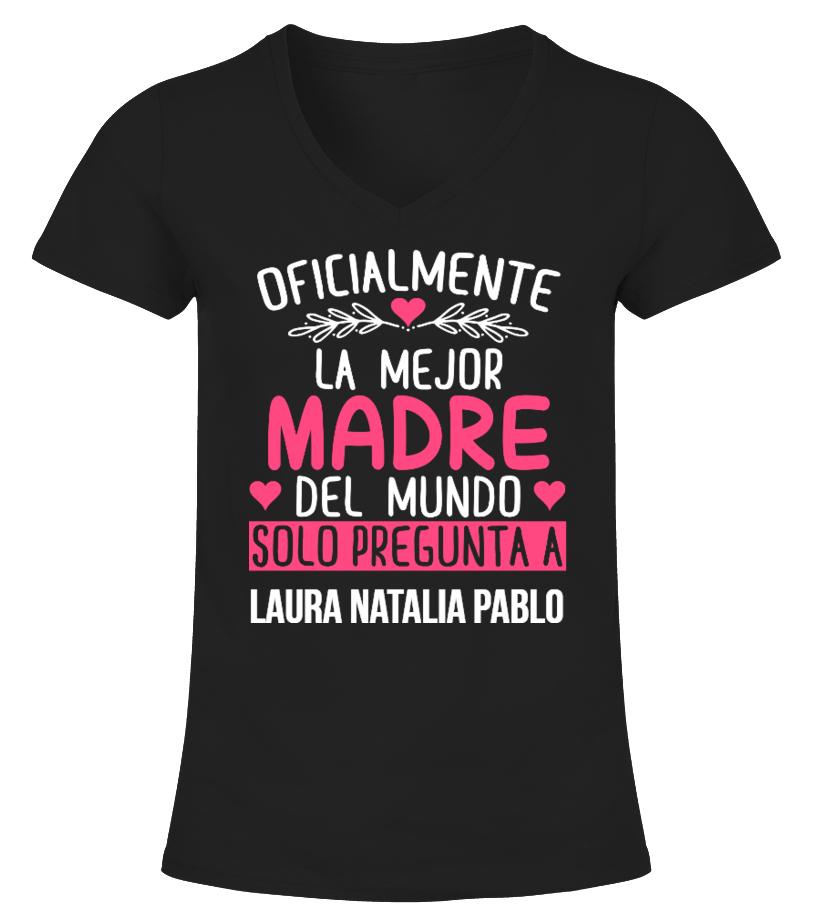 OFICIALMENTE LA MEJOR MADRE CAMISETA PERSONALIZADA