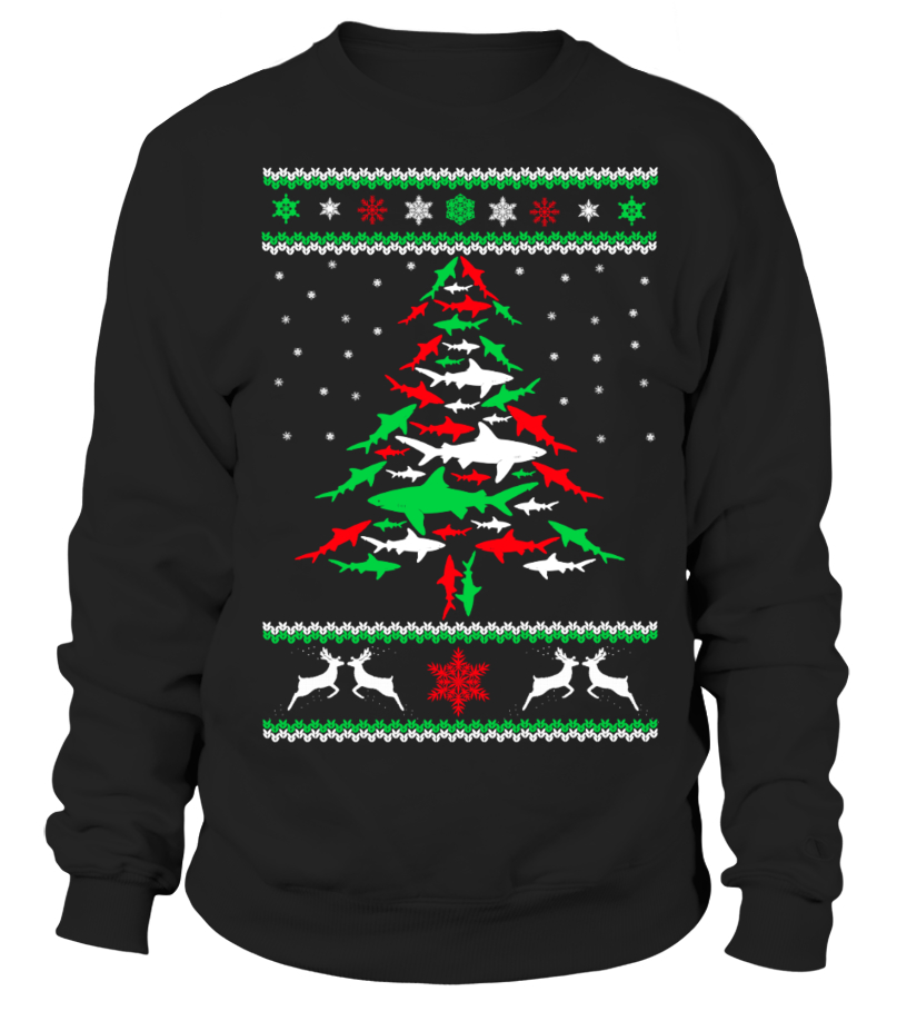 Best Christmas - Ltd Edition Shark Christmas Tree Sweatshirt Unisex