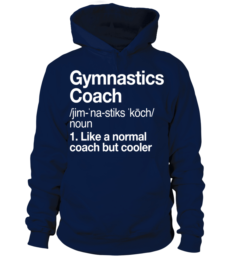 Gymnastics Coach Funny Definition T-shirt Trainer Gift Tee