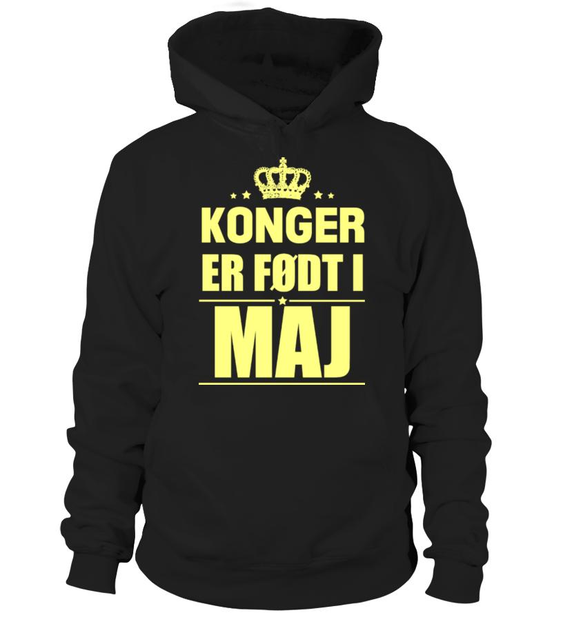 KONGER  ER FØDT I  MAJ