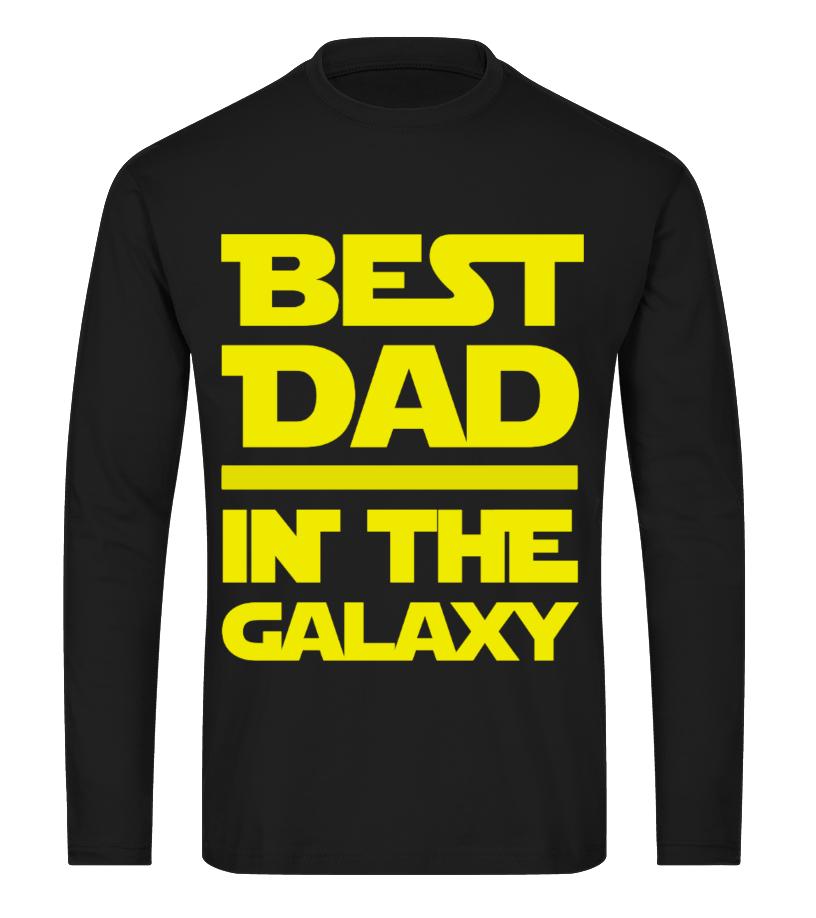 4496eaa5 Cool Best Dad In The Galaxy Star War Tshirt T-shirt, V-neck, Long ...