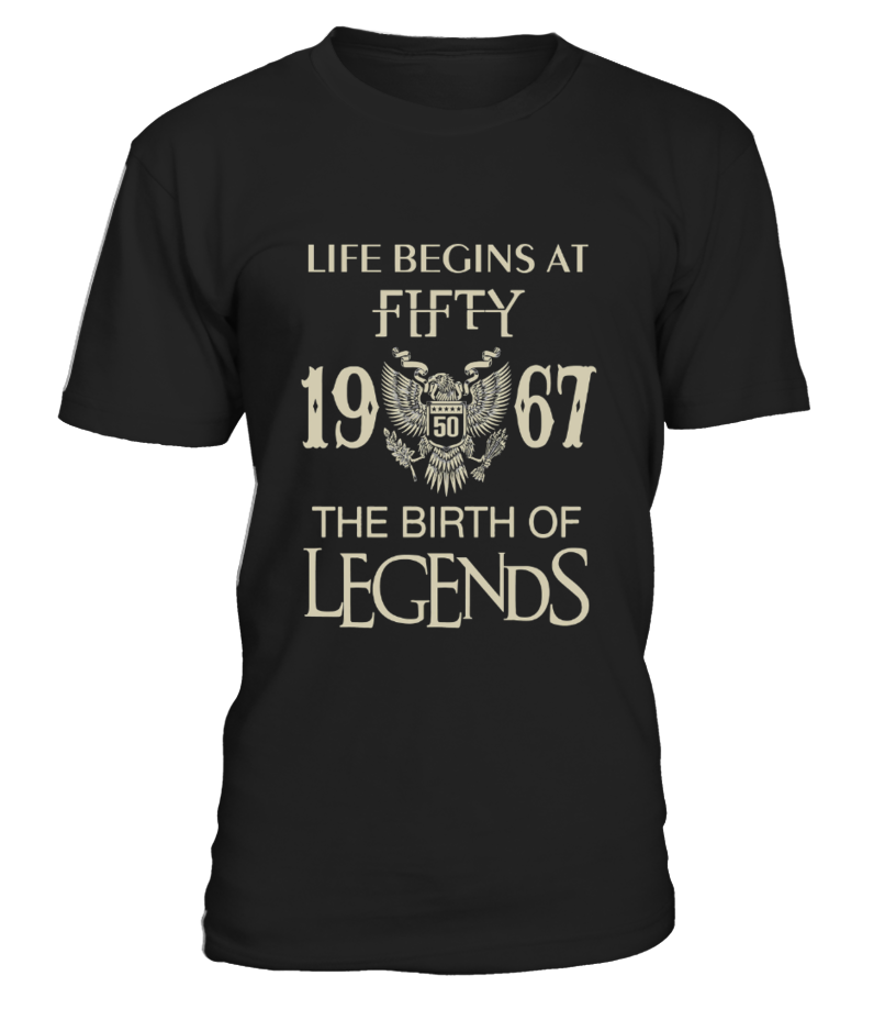 Life begins at Fifty   1967   The birth of legends