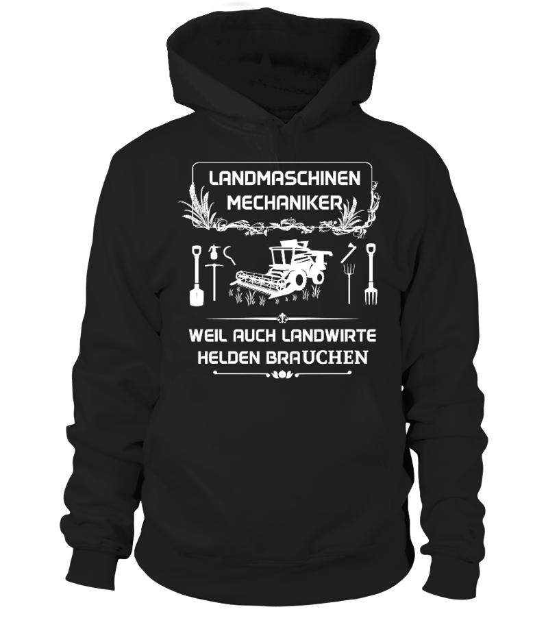Landmaschinenmechaniker - T-Shirt Hoodie