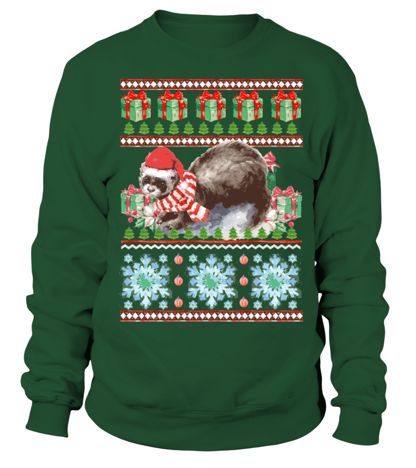 Ferret Ugly Christmas Sweater