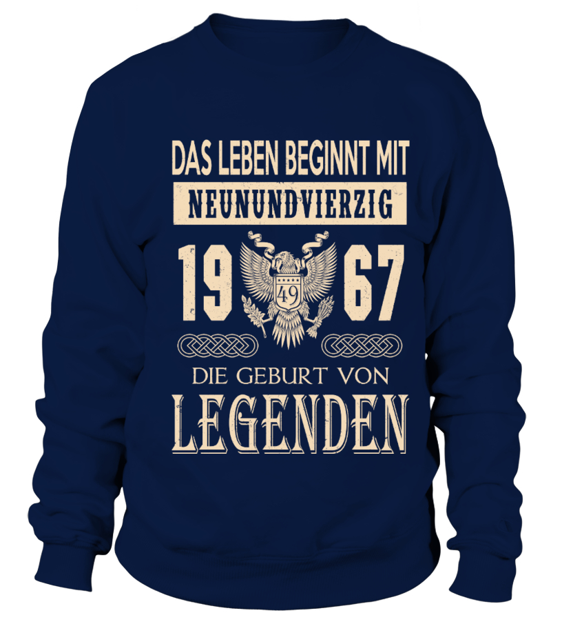 1967 - Legend T-shirts
