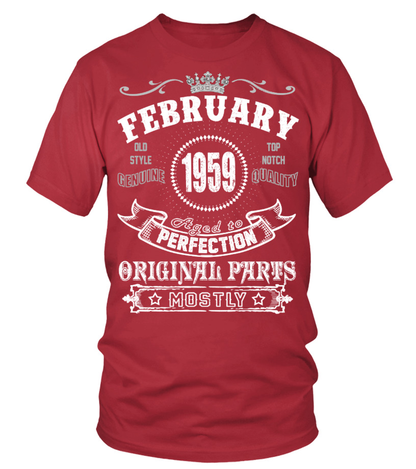 1959 February Aged To Perfection Orginal
