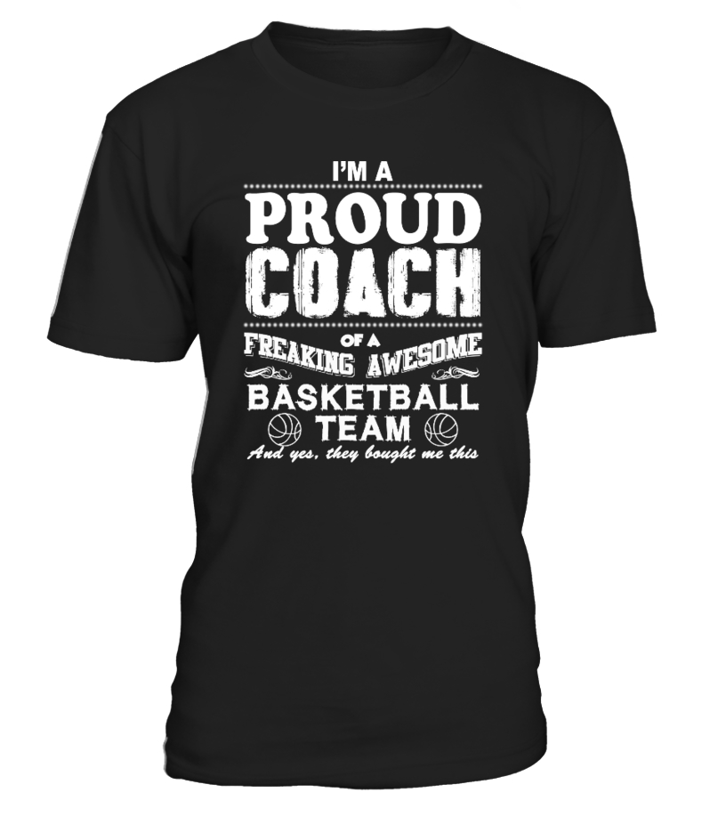 Proud Basketball Coach Shirt