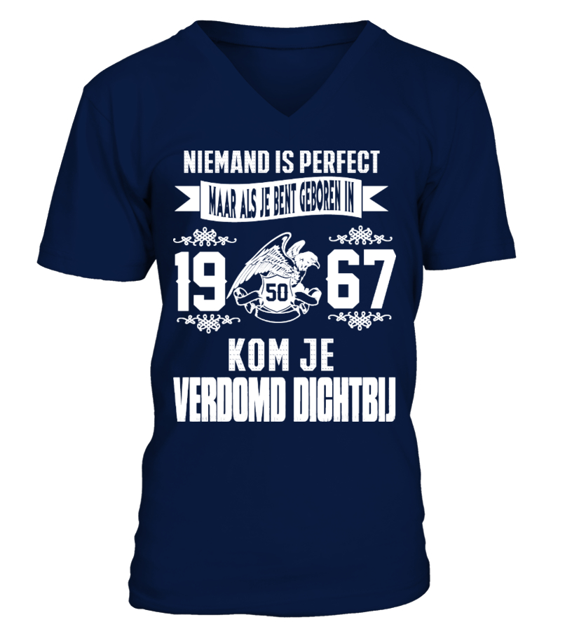 Niemand is perfect -1967-shirt