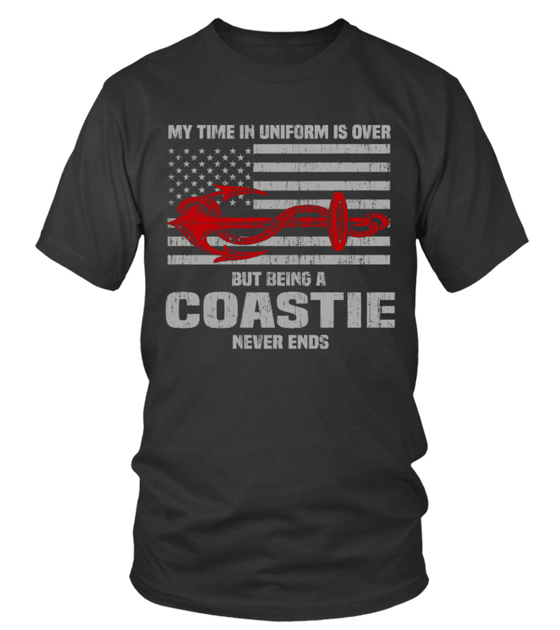 Over But Being A Coastie Never Ends.