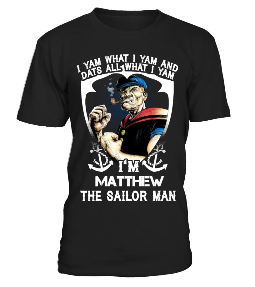 SAILOR MAN I YAM WHAT I YAM (CUSTOM)