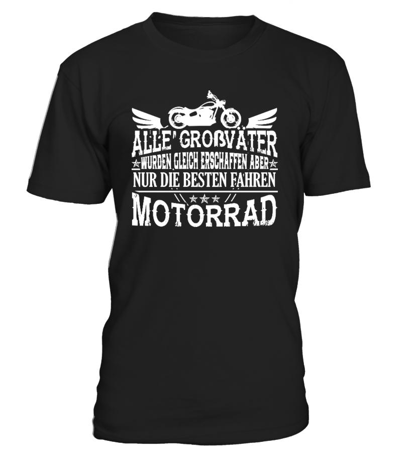 Motorrad fahrende Opas