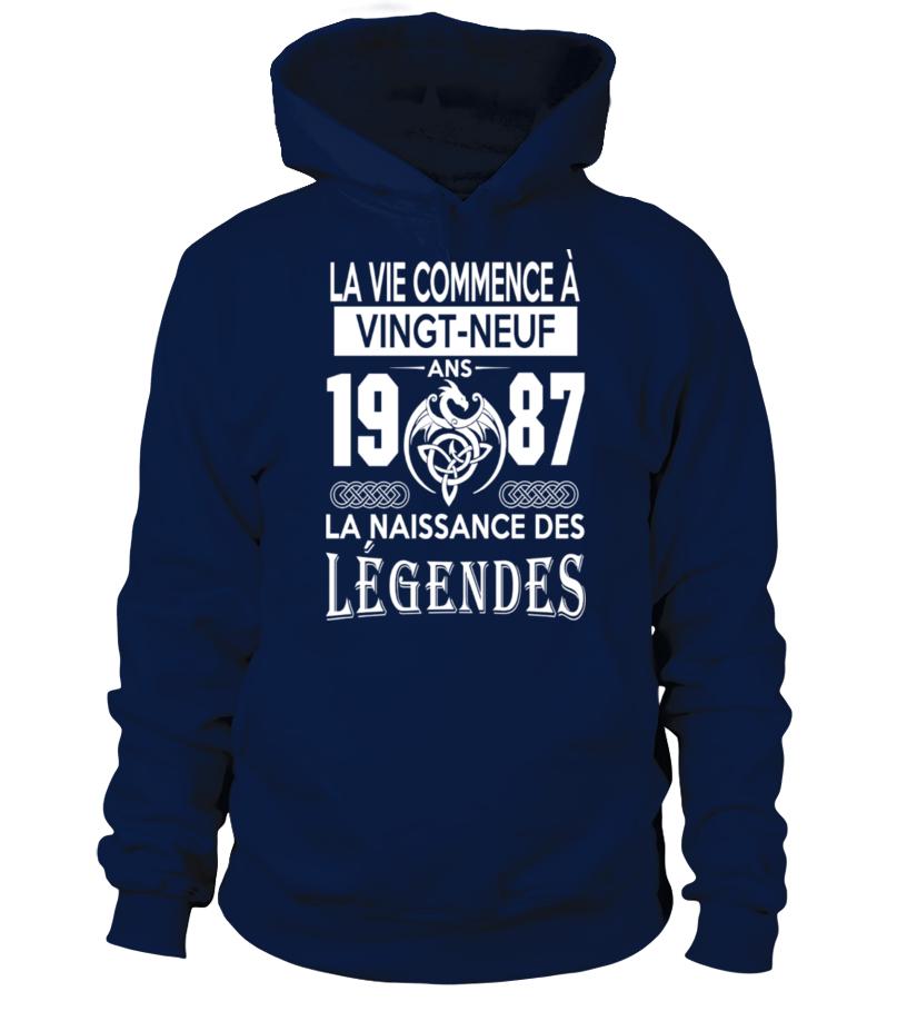 1987-LEGENDES TSHIRT