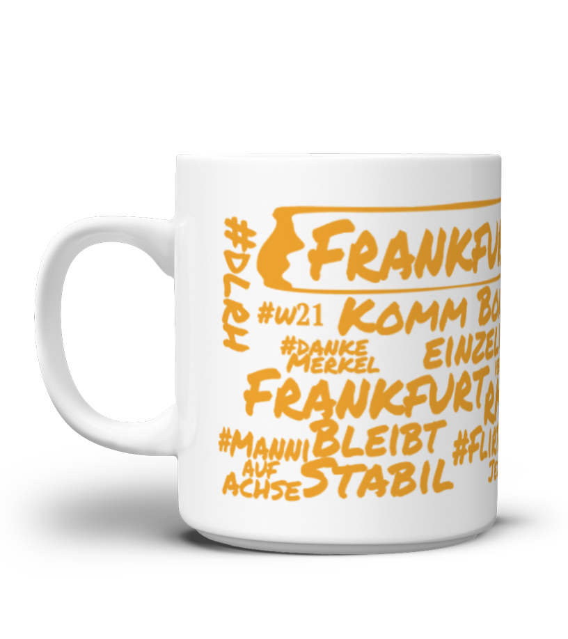 Jodlertasse - FFM Edition - ©Designed by RMV-Manni