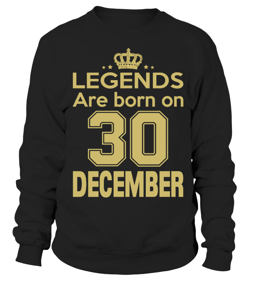 LEGENDS ARE BORN ON 30 DEMCEMBER