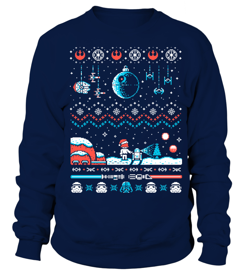Star Wars Christmas Ugly Sweater