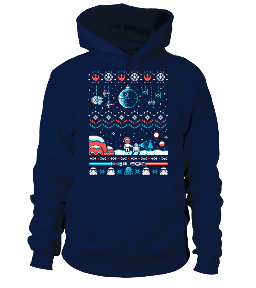 Amazing Christmas - Star Wars Christmas Ugly Sweater Hoodie Unisex