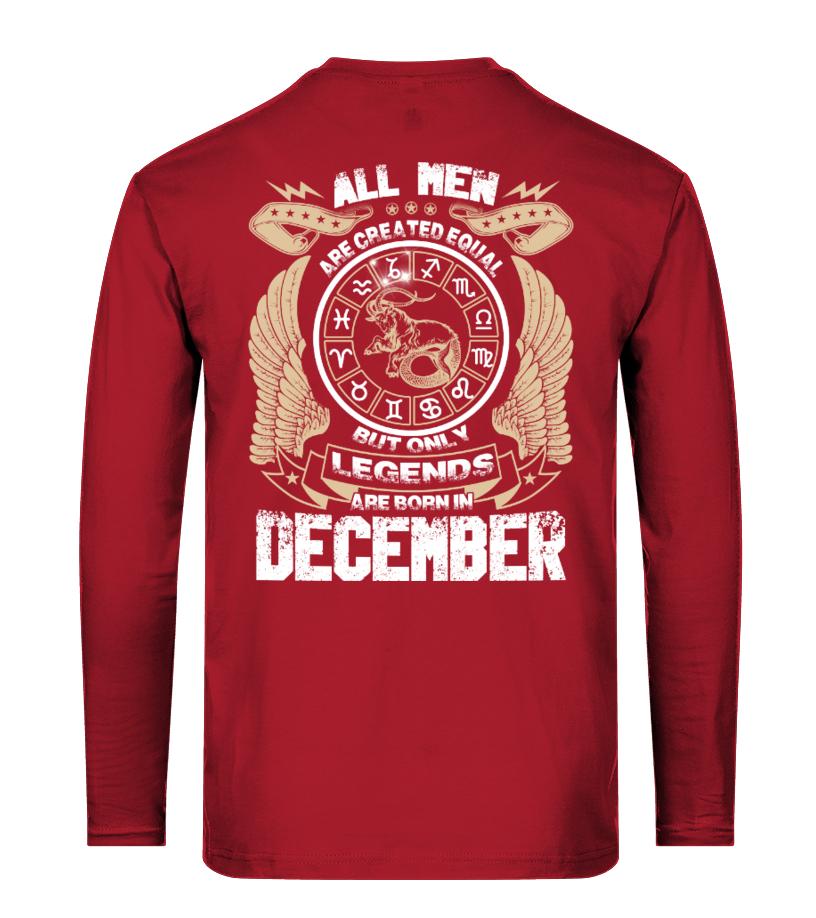 Legends Are Born December Hoodie
