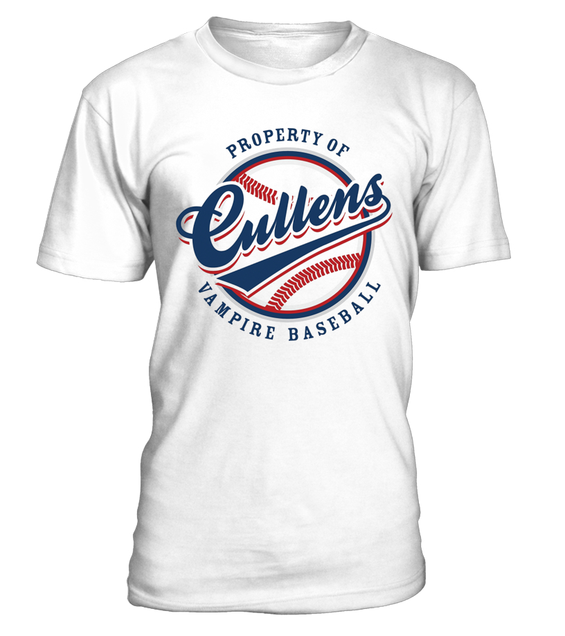 Awesome Baseball - Vamprie Baseball Property Of Cullens Shi Round neck T-Shirt Unisex