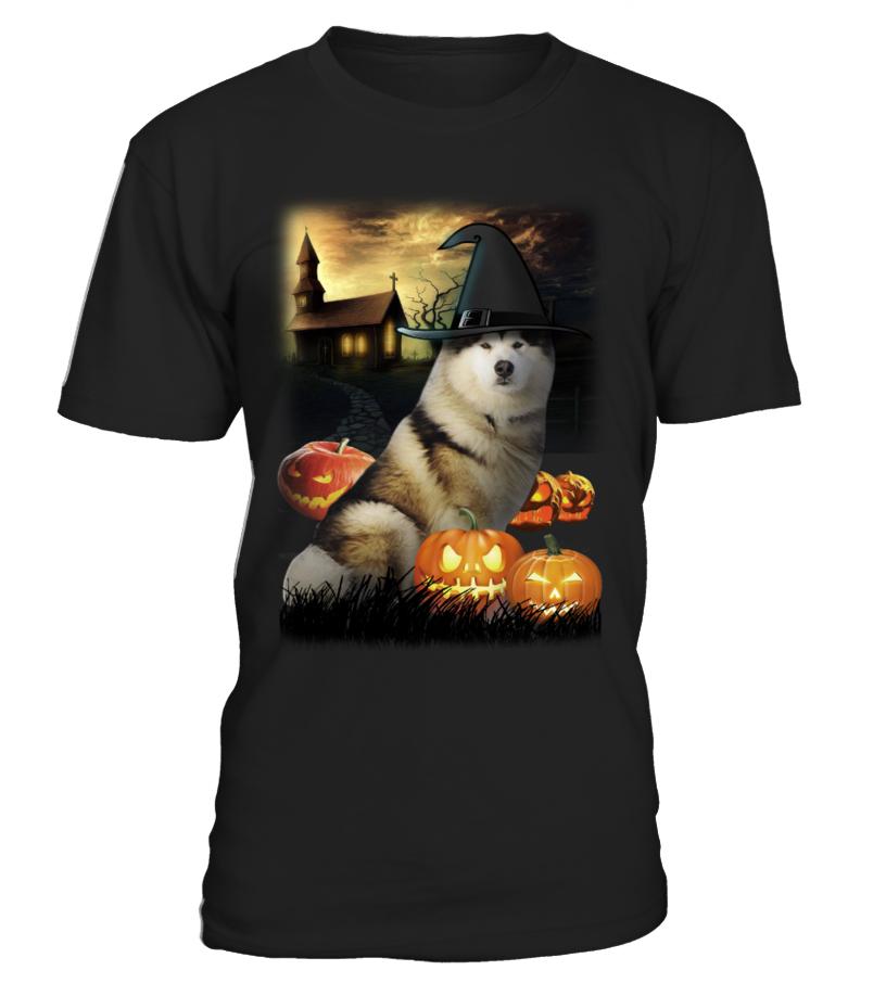 Halloween Alaskan Malamute