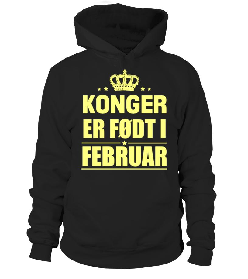 KONGER  ER FØDT I  FEBRUAR