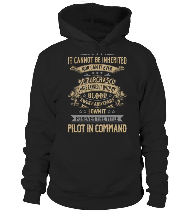 Amazing Pilot - Pilot In Command Hoodie Unisex