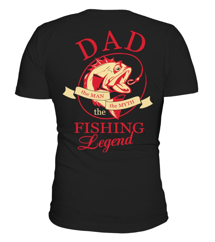 Dad Fishing Legend - Back Side