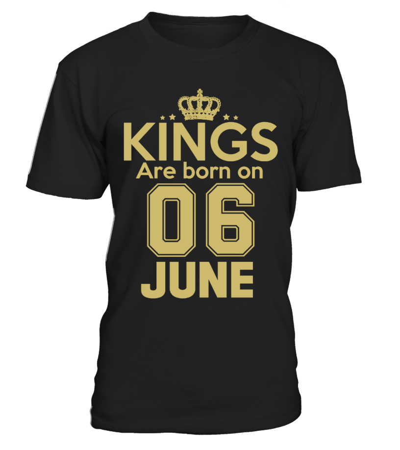 KINGS ARE BORN ON 06 JUNE