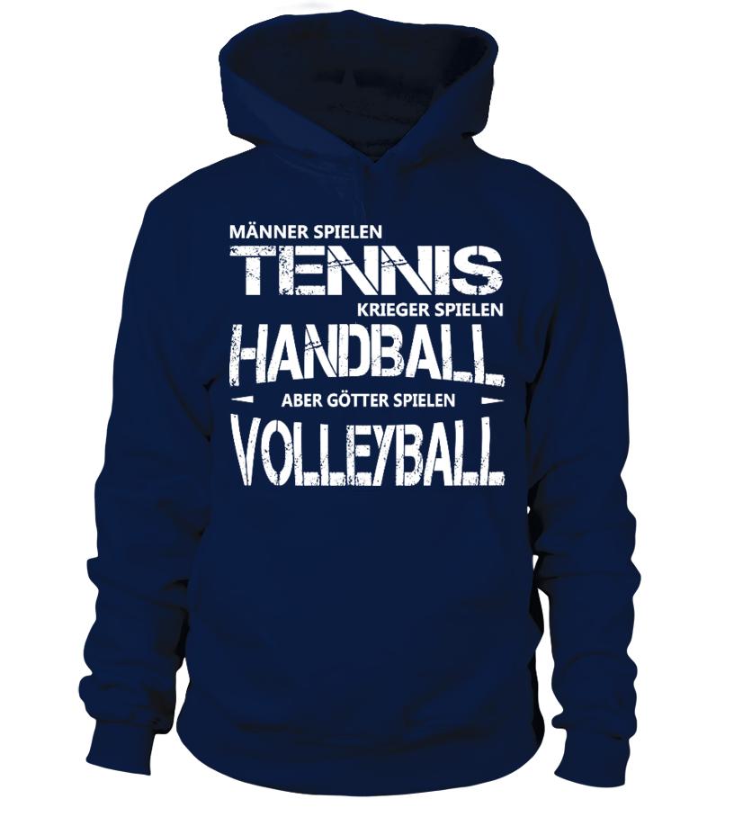 Volleyball Shirt - Götter spielen Volleyball! Geschenkidee