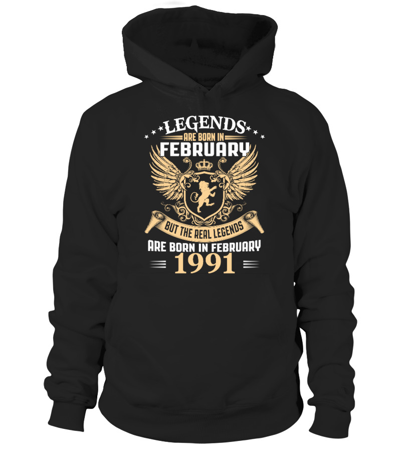 Legends Are Born In February 1991