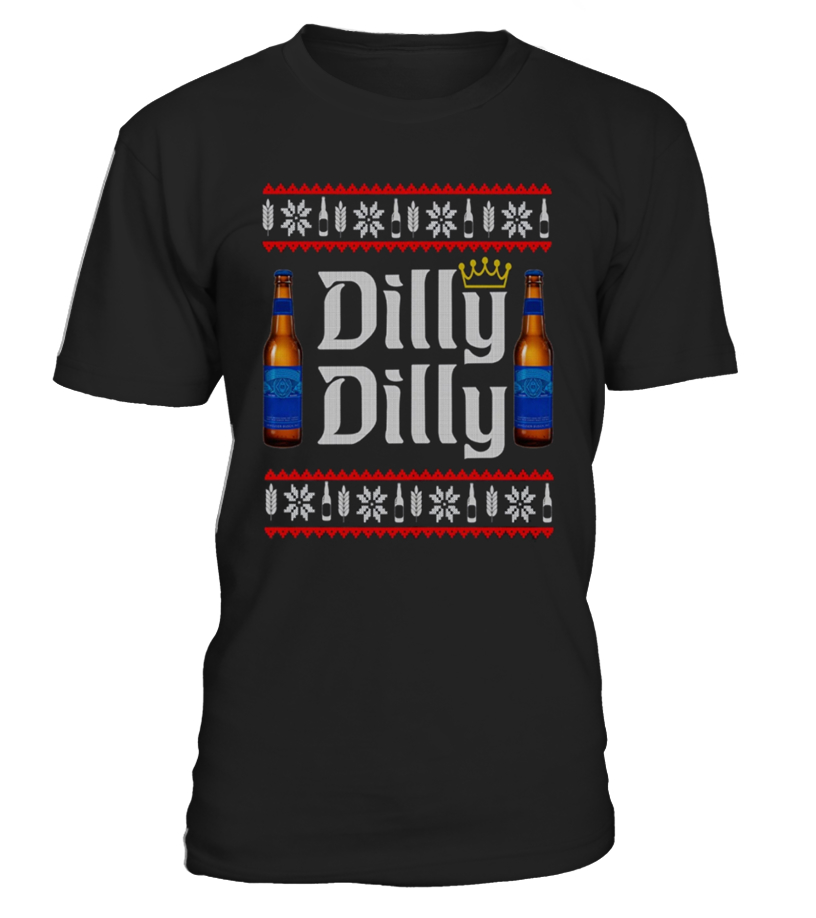 Amazing Christmas - Dilly Dilly Ugly Christmas Tee Shirt Round neck T-Shirt Unisex
