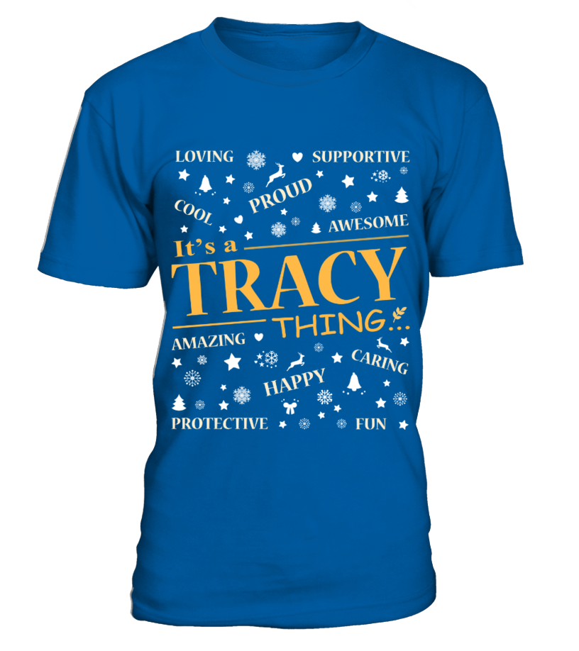 IT IS TRACY THING